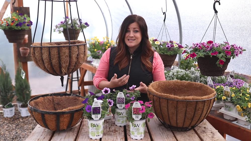 , Creating Hanging Baskets, Redwood Nursery & Garden Center