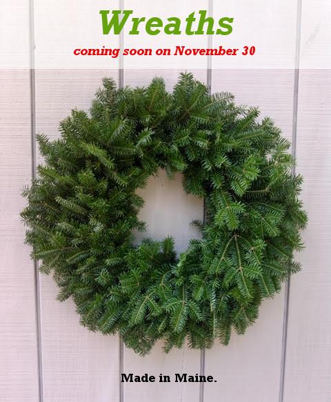 , Wreaths Coming Soon – November 30, Redwood Nursery & Garden Center